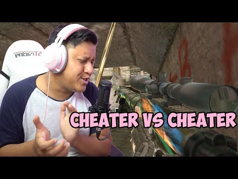 Match Cheater VS Cheater Seru ! - Point Blank Indonesia