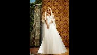 Прямые свадебные платья. Невесты в прямых свадебных платьях.