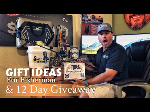 Gift Ideas For Fisherman - 12 Days Of Giveaways - 4K