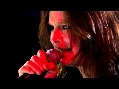 MetallicA & Ozzy - Iron Man & Paranoid (RnR Hall of Fame '09)