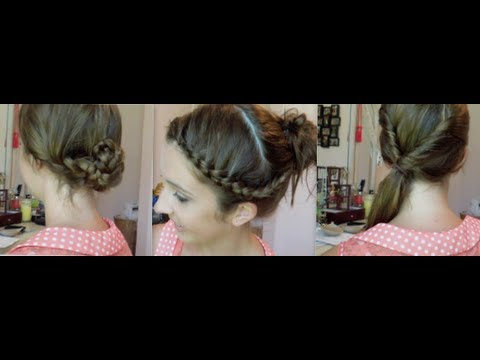 3 quick & easy beach hairstyles