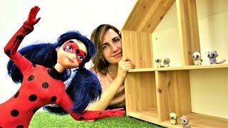 Леди Баг строит дом для животных. Игры для девочек про волшебство