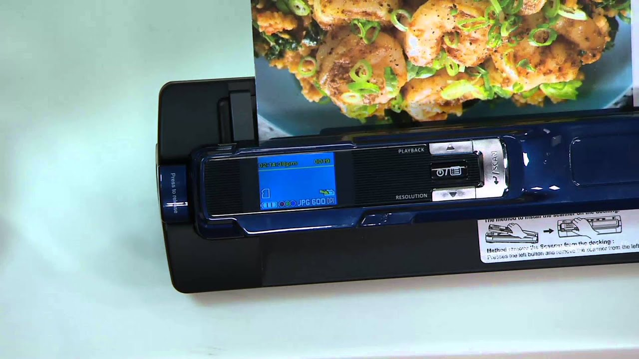 GPX PS803B Blue Scanning Wand /& Dock Station