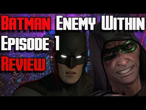 Batman: The Enemy Within Review- Episode 1: The Enigma | Telltale Batman Season 2 Review