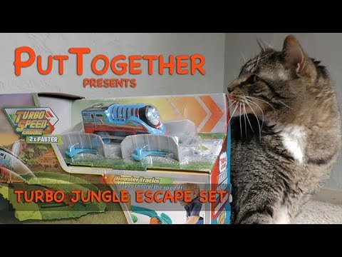 Fisher-Price Track Master Turbo Jungle Escape Set Assembly Instructions | Thomas & Friends 2019