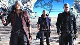 Download Video Devil May Cry 5 - Game Movie (All Cutscenes) 2019 MP3 3GP MP4