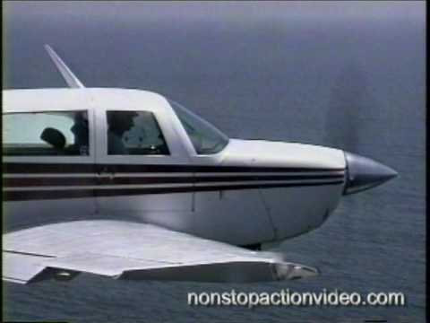 Mooney low level scenic beach flight along California coast - MUST SEE -
