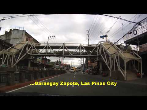 Zapote River Drive BF Resort EB Las Pinas Friendship Route Exit Equitable Village Talon Uno 22Mar201