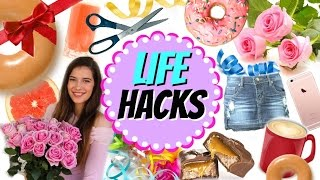 10 Life Hacks All Girls Need To Know!