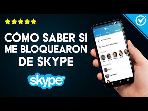 ¿Cómo Saber si te han Bloqueado en Skype?