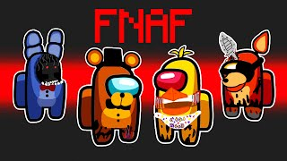 😱 *NUEVO* MOD FNAF EN AMONG US ⏳ Five Nights at Freddy's Mod