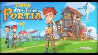 My Time At Portia CZ/SK #4 | Dostavba Mostu a Hunt Questy | CZ Lets Play / Gameplay HD
