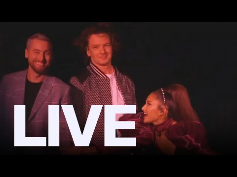 Ariana Grande With NSYNC At Coachella  ET Canada