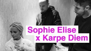 Sophie Elise og Karpe Diem snakker om Hus Hotell Slott brenner