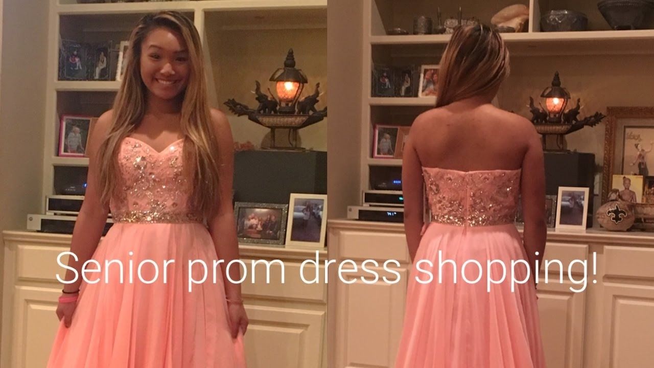 5ad9ebd78c4 2017 Senior Prom Dress Shopping Vlog! - YouTube
