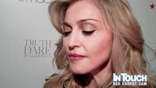 Madonna Talks To In Touch About How She Disciplines Lourdes At The Launch Of Her Fragrance