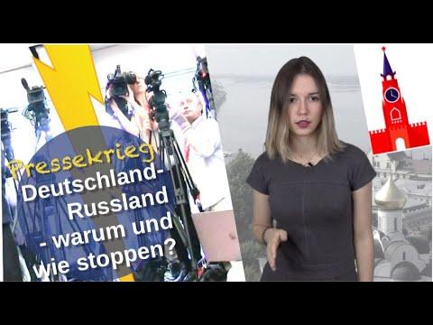 Pressekrieg Deutschland-Russland: Warum & wie stoppen?