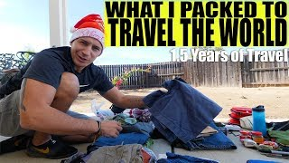 WHAT I PACKED FOR 1.5 YEARS OF TRAVEL