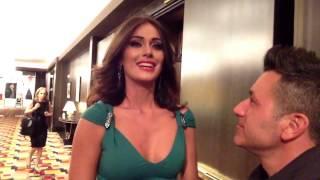 Primera entrevista con Irene Esser luego de Miss Universo 2
