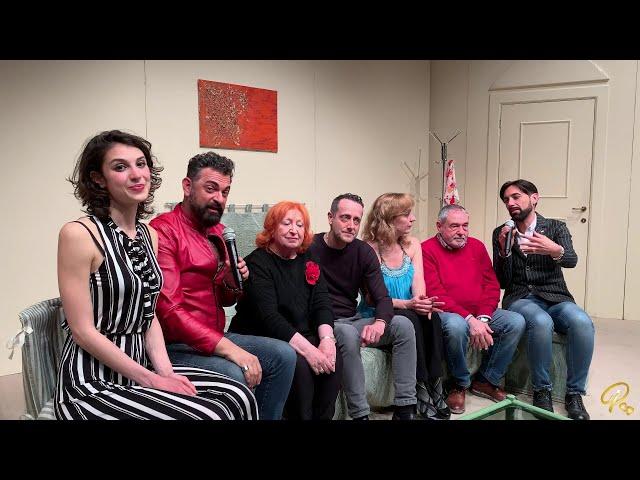 Stasera si cena a letto -Intervista a tutto il Cast
