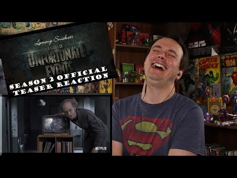 A Series Of Unfortunate Events - Season 2 Official Teaser REACTION