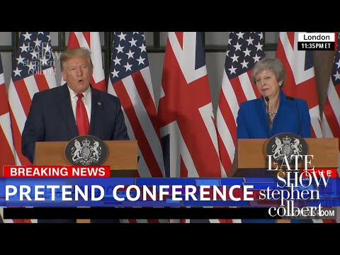 The Trump May Press Conference Got Weird