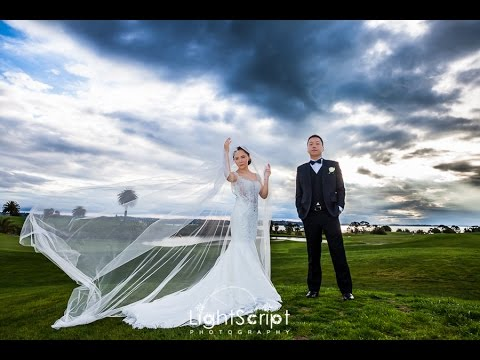 Creative Wedding Video Of George Michelle At Formosa Golf Resort Auckland New Zealand