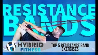 Top 5 Resistance Band Exercises | Advance Your Workout
