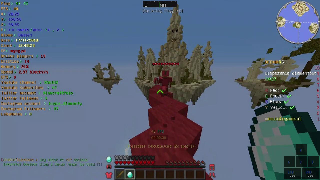 Minecraft mysg.pl (CubeGame.pl) #9  cz.9 - YouTube