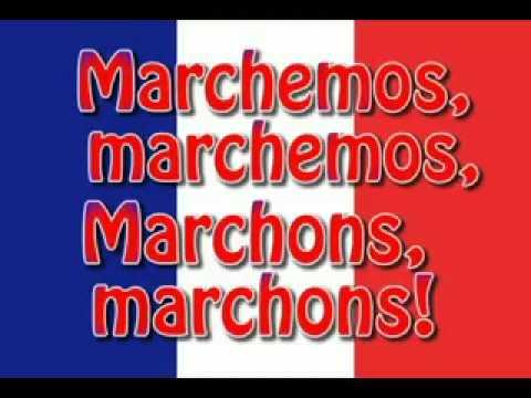 La Marsellesa-La Marseillaise-titulado en frances y español