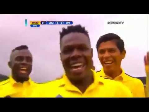 Primer gol de Luis Fernando Copete con Comerciantes Unidos