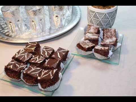 carré-au-chocolat-et-noix-de-coco-réalisé-en-10-minutes-#gateau_facile-#gateau_aid-#recette_rapide