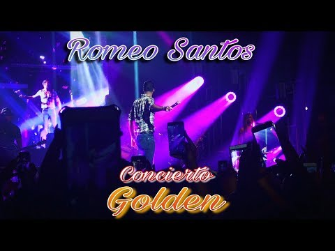 "Romeo Santos en vivo concierto en New York ""Golden"" (primera parte)"