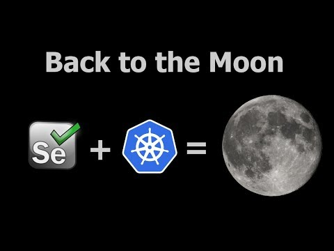 Selenium in Kubernetes. Moon: setup from scratch