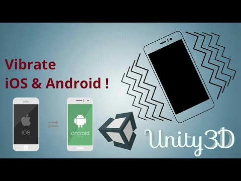 How to vibrate the ios and android device from unity C# code?