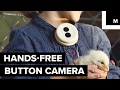 Hands-free button camera