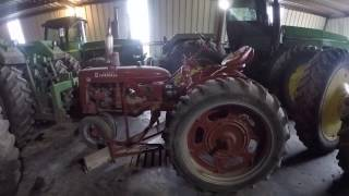 Equipment Walk Around; John Deere Tractors/Case IH Combine
