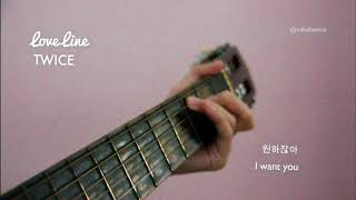 Download TWICE (트와이스) - LOVE LINE (Acoustic Cover) Mp3