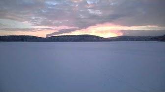 Talvi sää Jyväskylän satamassa