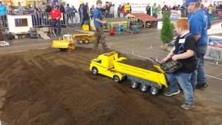 RC Truck -Dumper -Excavator Action - Funny @ Faszination Modellbau Friedrichshafen 2015