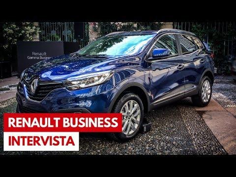 Renault Clio, Megane, Captur e Kadjar Business | Nuova Gamma 2018 [INTERVISTA]
