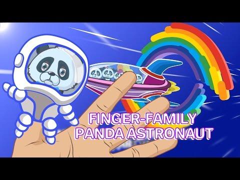Finger Family / Panda Family in the Space / Daddy Finger Karaoke