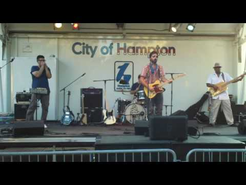 Anthony Rosano and The Conqueroos     at Downtown Hampton Block Party 2016