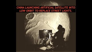 China Launching Artificial Moon Into Space to Replace Street Lights, Seriously