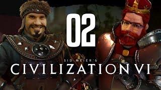 Die erste Kriegshandlung - Der Anfang vom Ende | Civilization VI | Nils gegen Dennis #02