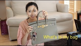 MelodyBlur- What's in My Purse 我的包包里有什么 with a little magic