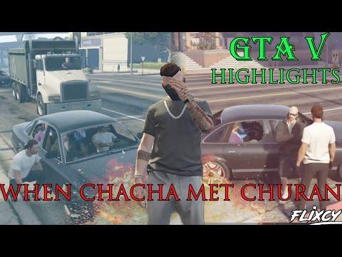 When CHACHA SINGH met ED CHURAN in LOS SANTOSHH | GTA V ROLEPLAY | STREAM HIGHLIGHTS.