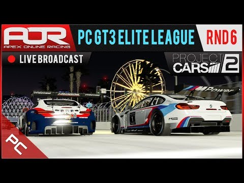 Project CARS 2 - AOR PC GT3 Elite League - Season 9 - Round 6 - Long Beach