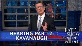Brett Kavanaugh Screams About His Innocence