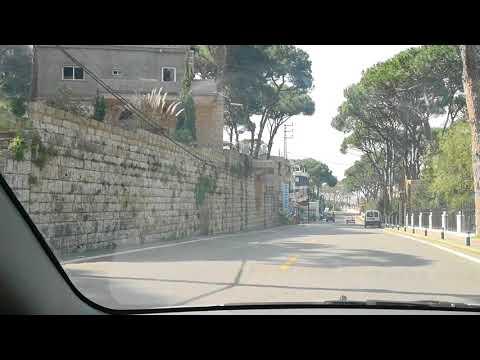 The main Boulevard of Ras el Matn - Roads in Lebanon OxLb.com